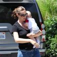 Jennifer Garner et Samuel le 11 août.