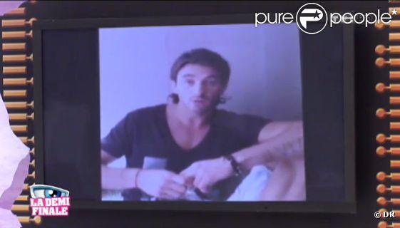 Thomas présente ses excuses dans la quotidienne de Secret Story 6 le lundi 27 août 2012 sur TF1