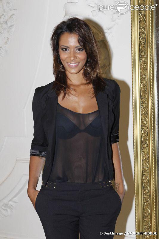 Shy'm le 4 juillet 2012 à Paris