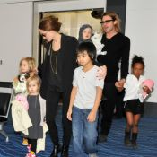 Angelina Jolie et Brad Pitt en famille : Visite française discrète et charmante
