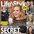 Adele et sa possible alliance en couverture du magazine américain  Lie&Style,  août 2012.