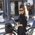 """""""Exclu : balade à vélo pour Lady Gaga dans les rues de Copenhague, le 3 septembre 2012."""""""
