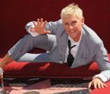 Ellen DeGeneres reçoit son étoile sur le Walk of Fame à Hollywood, le 4 septembre 2012
