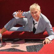 Ellen DeGeneres, déchaînée, reçoit son étoile devant sa belle Portia de Rossi