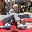 Ellen DeGeneres reçoit son étoile sur le Walk of Fame à Hollywood, le 4 septembre 2012