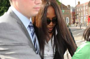 PHOTOS : Naomi Campbell plaide coupable !