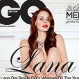 Lana Del Rey en couverture du magazine GQ anglais d'octobre 2012