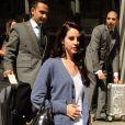 Lana Del Rey sort de son hôtel le 5 septembre 2012 à Londres