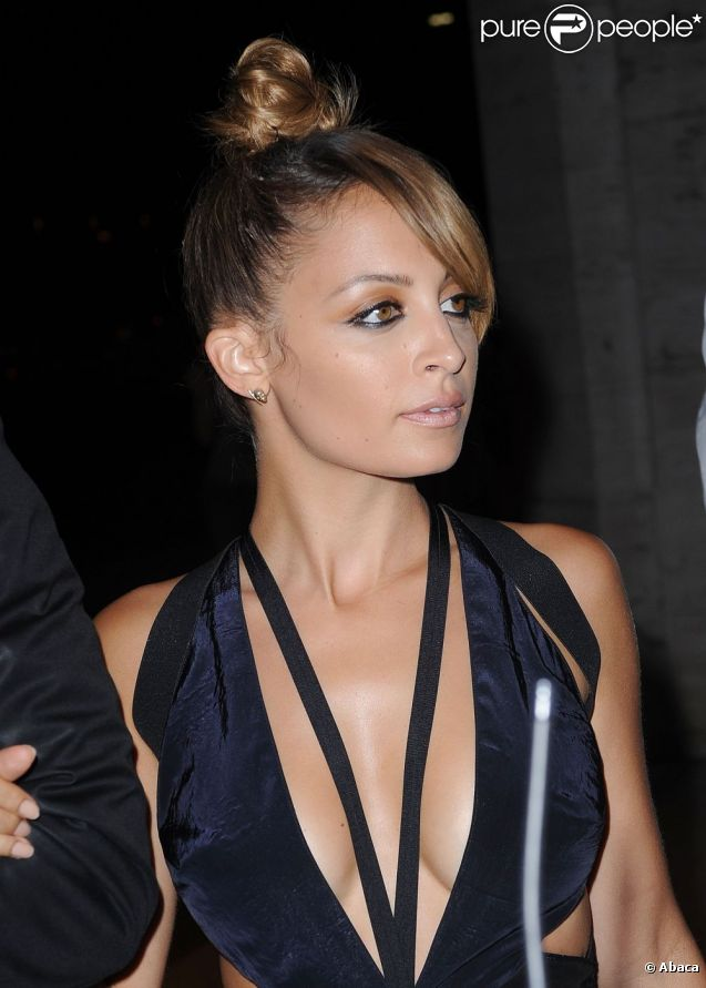 Nicole Richie, radieuse à son arrivée au Lincoln Center pour les Style Awards 2012. New York, le 5 septembre 2012.