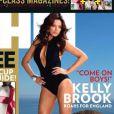 Kelly Brook en couverture du  FHM  anglais en avril 2011.