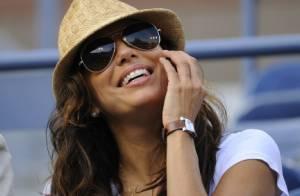 US Open : La belle Eva Longoria survoltée pour son amie Serena Williams