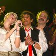 Nolwenn Leroy avec Laurent Voulzy en 2006.