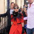 Lady Gaga le 9 septembre 2012 à Londres