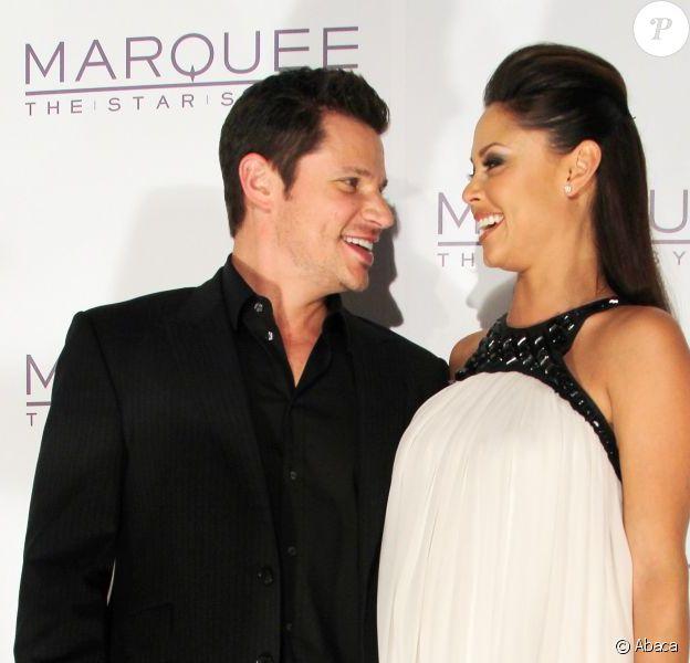 Nick Lachey et Vanessa Minnillo à Sydney le 30 mars 2012.