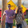Nick Lachey et Vanessa Minnillo à Los Angeles, le 4 septembre 2012.