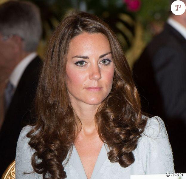 Kate Middleton à Kuala Lumpur lors de son arrivée en Malaisie dans le cadre de la tournée en Asie du sud-est avec le prince William le 13 septembre 2012