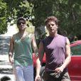 Zachary Quinto et Jonathan Groff, en juillet 2012.