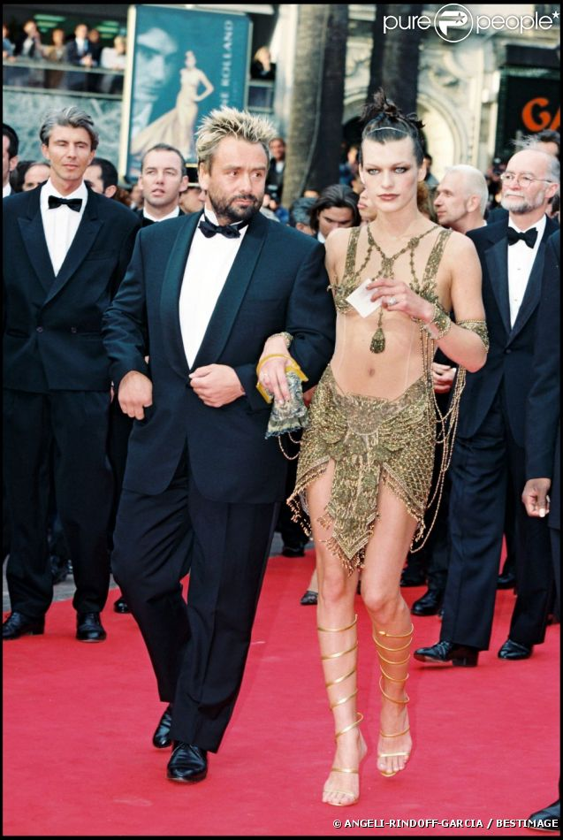 Luc Besson couple