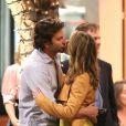 Bradley Cooper et Gillian Vigman à Los Angeles sur le tournage de  Very Bad Trip 3  le 12 septembre 2012