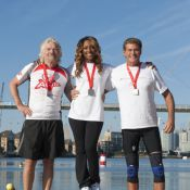 David Hasselhoff, Richard Branson, Holly et Sam unis pour un triathlon de folie