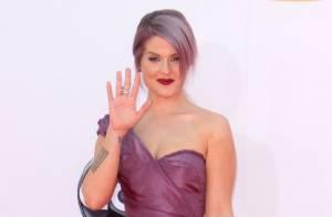Emmy Awards 2012, Kelly Osbourne : Radieuse et élancée, la métamorphose continue