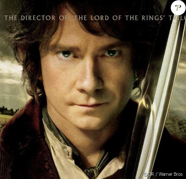 Une nouvelle affiche pour le film Le Hobbit : Un voyage inattendu - septembre 2012.