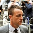 John Terry arrives au tribunal de Westminster dans le centre de Londres le 13 juillet 2012