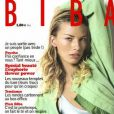 Lavinia Birladeanu dans le magazine  Biba .