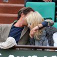 Vincent Cerutti et Lavinia, tellement complices, à Roland-Garros, en juin 2012.