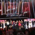 Photos exclusives de Charles Aznavour et tous les grands artisites prises en live sur l'émission Hier Encore diffusée le 29 septembre en prime time sur France 2