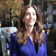 Nancy Shevell est de retour au George-V avec son mari Paul McCartney et sa belle-famille. Paris, le 1er octobre 2012.