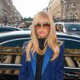 Rachel Zoe arrive à l'Opéra Garnier pour assister au défilé printemps-été 2013 de Stella McCartney. Paris, le 1er octobre 2012.