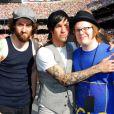 Fall Out Boy en 2007. Le 29 septembre 2012, Patrick Stump, ex-chanteur du groupe dissout fin 2009, a épousé sa compagne de longue date Elisa.