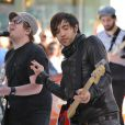 Fall Out Boy en 2009. Le 29 septembre 2012, Patrick Stump, ex-chanteur du groupe dissout fin 2009, a épousé sa compagne de longue date Elisa.