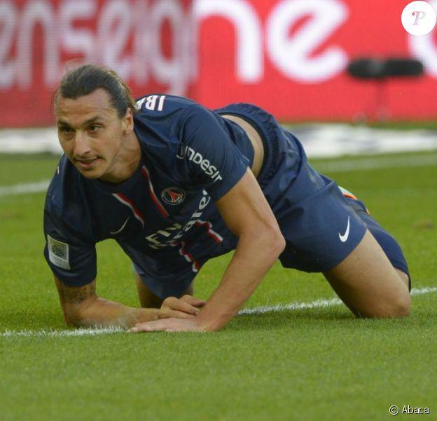 Zlatan Ibrahimovic Zlatan Ibrahimovic lors du match face à Sochaux au Parc des Princes à Paris le 29 septembre 2012