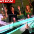Image TMZ de l'embrouille entre Nicki Minaj et Mariah Carey lors des auditions d'American Idol saison 12 à Charlotte le 2 octobre 2012