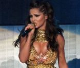 Chaud devant ! Cheryl Cole en concert à Belfast le 3 octobre 2012 pour le lancement de sa tournée en promotion de l'album  A Million Lights .