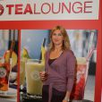Steffi Graf lors de l'ouverture d'un Teekanne Tea Lounge à Cologne le 1er octobre 2012