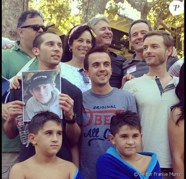 Les acteurs de la série Malcolm, le 18 septembre 2012.