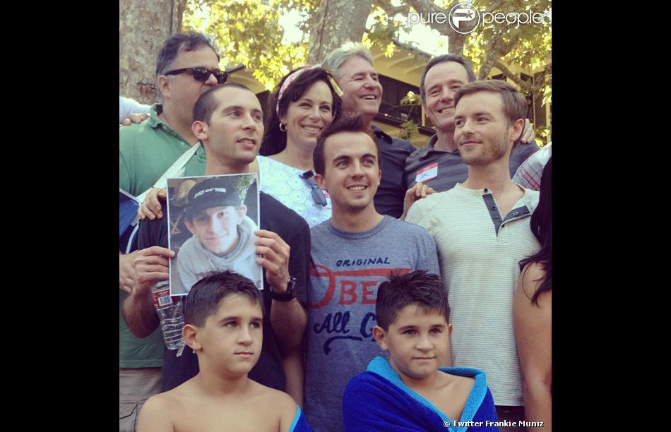 Les acteurs de la série  Malcolm , le 18 septembre 2012.
