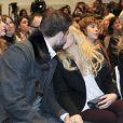 Shakira et Gerard Piqué en novembre 2011 à Barcelone.