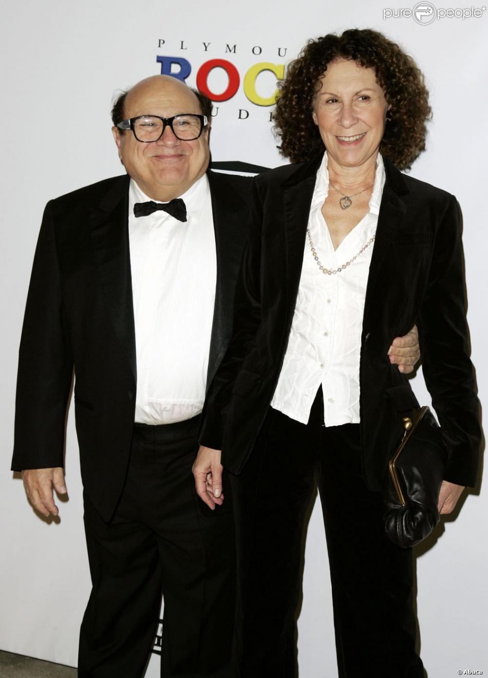Danny DeVito et Rhea Perlman à Los Angeles, le 24 janvier 2009.