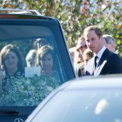 Le prince William ému aux obsèques d'Olga Powell, son ancienne nounou...