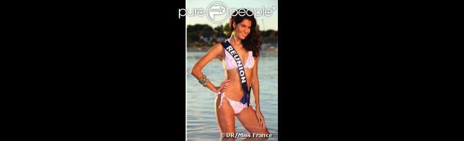 Marie Payet, Miss Réunion 2011 et deuxième dauphine de Miss France 2012 Delphine Wespiser