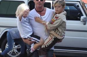 Gwen Stefani stylée avec ses fils : Secourue par son super mari