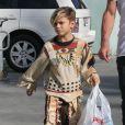 Shopping en famille pour Gwen Stefani, Gavin Rossdale et leurs fils Kingston et Zuma. Studio City, Los Angeles, le 13 octobre 2012.