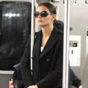 Katie Holmes : Une New-Yorkaise incognito dans le métro !