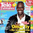La couverture du magazine  Télé 2 Semaines  avec Omar Sy, en kiosques depuis le 15 octobre.