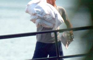 PHOTOS EXCLUSIVES : George Clooney en vacances en Italie... et en famille !