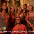 """Quatre sublime Miss dans Fort Boyard Halloween, le mercredi 31 octobre 2012 sur France 2"""